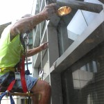 window caulking service
