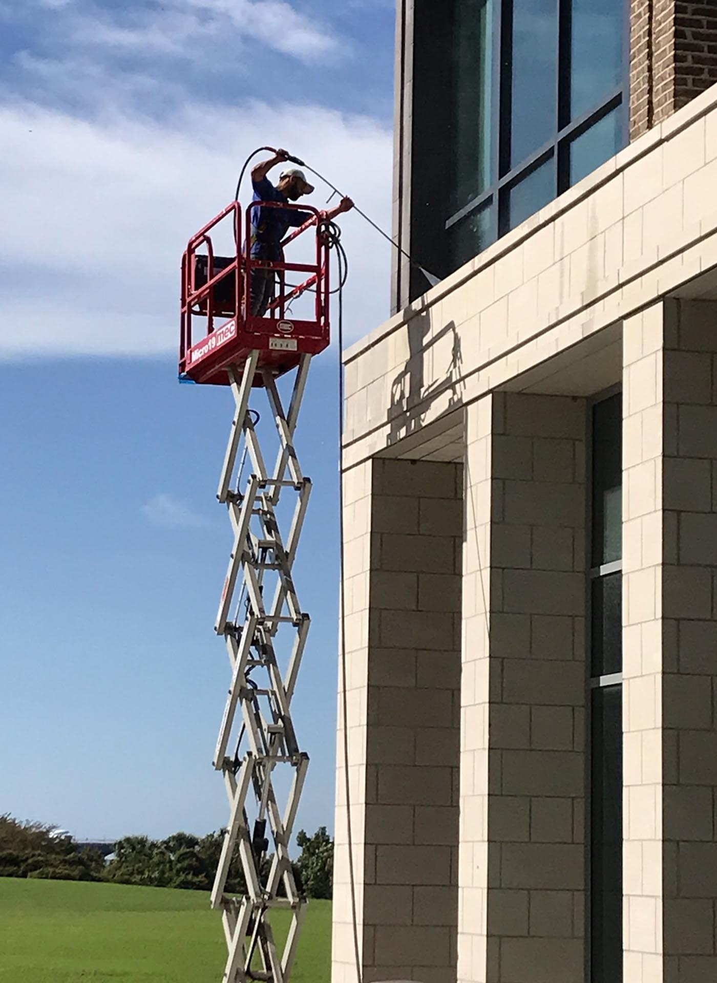 commercial pressure washing charleston sc