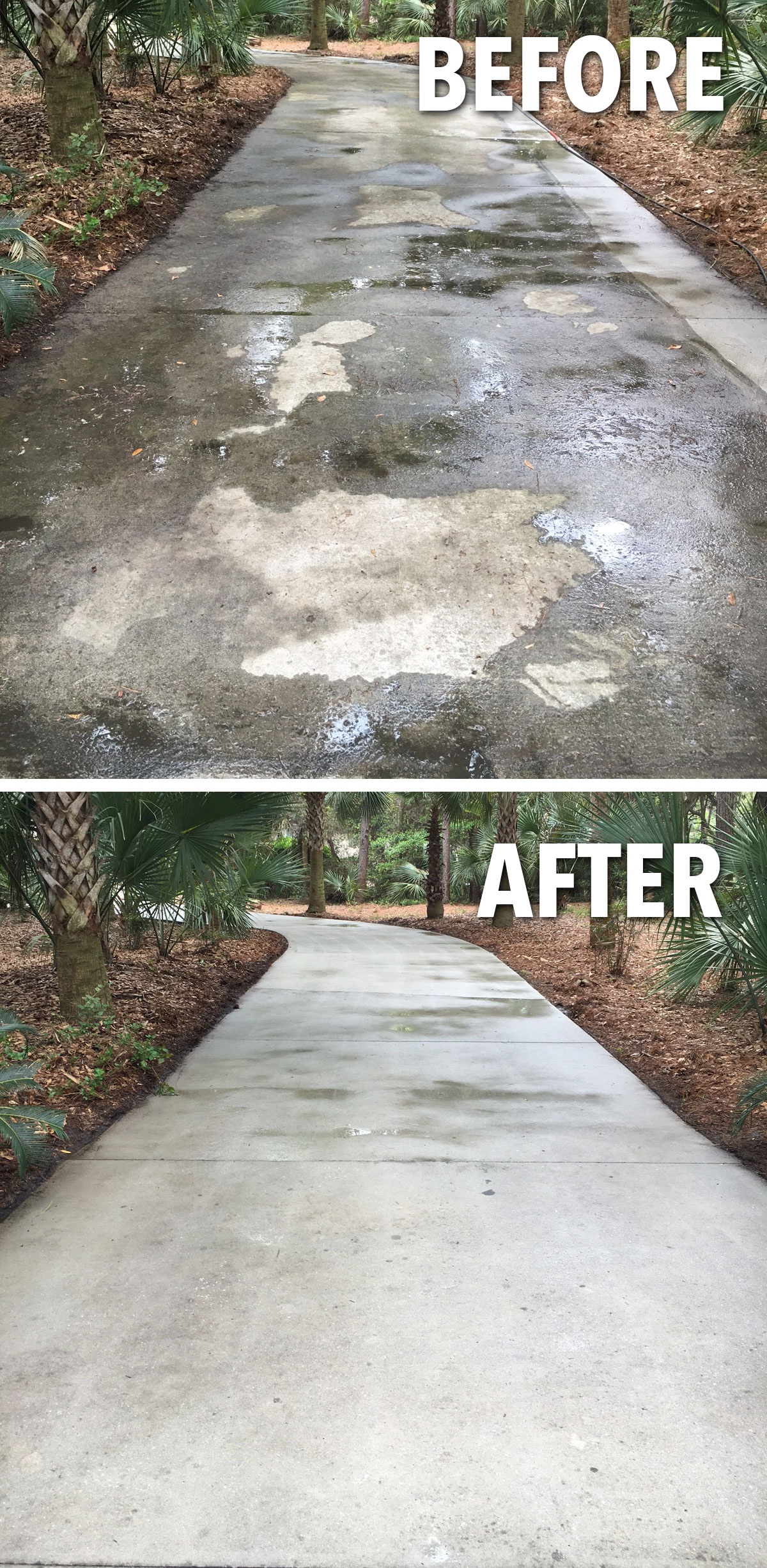 residential pressure washing service