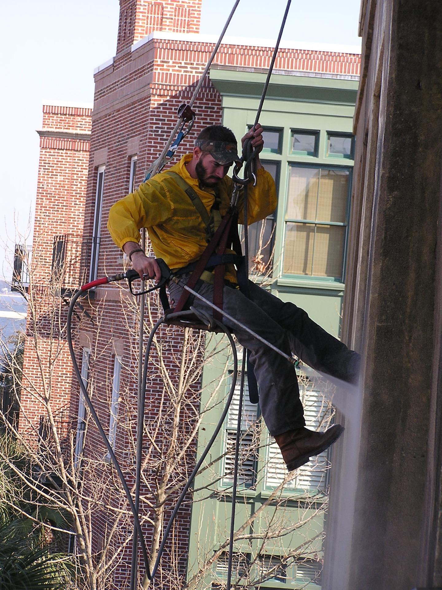 High Rise Pressure Washing Charleston
