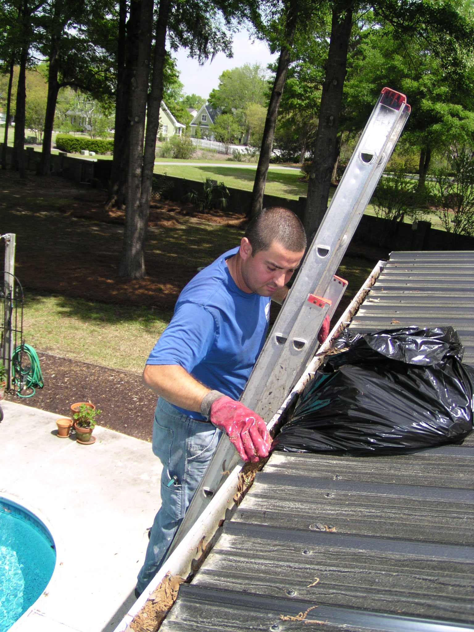 charleston gutter cleaning