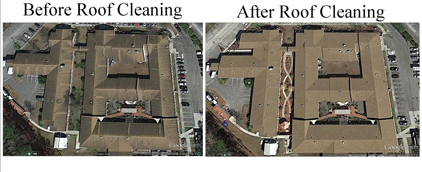 roof cleaning summerville sc