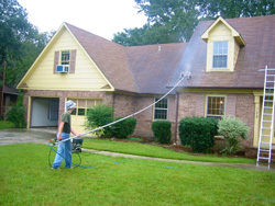 Roof Clean From Ground Ambassador Window Cleaning And